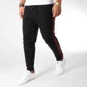 /achat-pantalons-joggings/hugo-by-hugo-boss-pantalon-jogging-avec-bandes-daky-50405968-noir-164286.html
