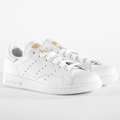 /achat-baskets-basses/adidas-baskets-femme-stan-smith-cg6014-footwear-white-real-lilac-raw-gold-164322.html