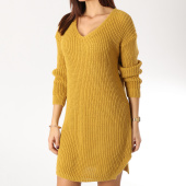 /achat-robes/girls-only-robe-femme-5887-jaune-moutarde-164385.html
