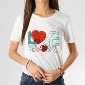 /achat-t-shirts/kaporal-tee-shirt-femme-braile-blanc-164457.html