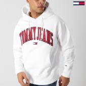 /achat-sweats-capuche/tommy-hilfiger-jeans-sweat-capuche-clean-collegiate-5911-blanc-164451.html