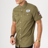 /achat-chemises-manches-courtes/petrol-industries-chemise-manches-courtes-patchs-brodes-sis449-vert-kaki-164592.html