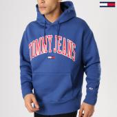 /achat-sweats-capuche/tommy-hilfiger-jeans-sweat-capuche-clean-collegiate-5911-bleu-marine-164606.html