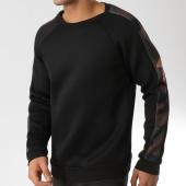 /achat-sweats-col-rond-crewneck/frilivin-sweat-crewneck-avec-bandes-6037-a-noir-camouflage-164756.html