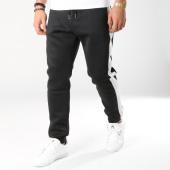 /achat-pantalons-joggings/frilivin-pantalon-jogging-avec-bandes-1528-noir-blanc-164778.html