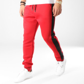 /achat-pantalons-joggings/frilivin-pantalon-jogging-avec-bandes-1528-rouge-noir-164779.html