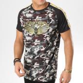 /achat-t-shirts/charo-tee-shirt-avec-bandes-ood-vert-kaki-camouflage-164856.html