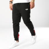 /achat-pantalons-joggings/charo-pantalon-jogging-hall-noir-blanc-bordeaux-164857.html