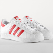 /achat-baskets-basses/adidas-baskets-superstar-j-cg6609-blanc-rouge-164967.html