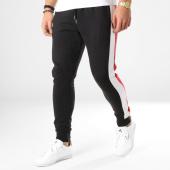 /achat-pantalons-joggings/brave-soul-pantalon-jogging-tricolore-avec-bandes-united--noir-blanc-rouge-165085.html