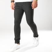 /achat-pantalons-carreaux/classic-series-pantalon-raye-90012-noir-blanc-165399.html