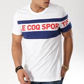 /achat-t-shirts/le-coq-sportif--tee-shirt-ess-saison-n3-blanc-bleu-marine-165607.html