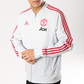 /achat-vestes/adidas-veste-zippee-avec-bandes-manchester-united-dp6933-gris-clair-rouge-165895.html