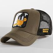 /achat-trucker/looney-tunes-casquette-trucker-daffy-vert-kaki-noir-165924.html