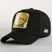 /achat-casquettes-de-baseball/star-wars-casquette-c-3po-noir-165933.html