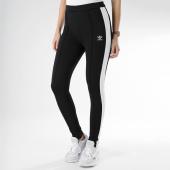/achat-pantalons-joggings/adidas-pantalon-jogging-femme-avec-bandes-du9721-noir-blanc-165950.html