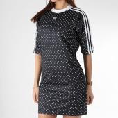 /achat-robes/adidas-robe-manches-courtes-femme-du9723-noir-blanc-165954.html