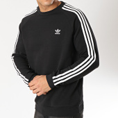 /achat-sweats-col-rond-crewneck/adidas-sweat-crewneck-3-stripes-dv1555-noir-blanc-166020.html