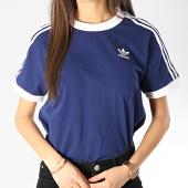https://www.laboutiqueofficielle.com/achat-t-shirts/tee-shirt-femme-3-stripes-dv2592-bleu-marine-blanc-166048.html