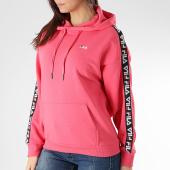 /achat-sweats-capuche/fila-sweat-capuche-femme-avec-bandes-clara-687073-rose-166001.html
