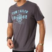 /achat-t-shirts/tom-tailor-tee-shirt-logo-gris-anthracite-bleu-clair-166063.html