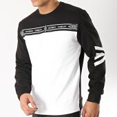 /achat-sweats-col-rond-crewneck/umbro-sweat-crewneck-avec-bande-authentic-697330-60-noir-blanc-166017.html