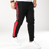 /achat-pantalons-joggings/hugo-by-hugo-boss-pantalon-jogging-devry-50405920-noir-boreaux-rouge-166145.html