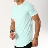 /achat-t-shirts-longs-oversize/terance-kole-tee-shirt-oversize-suedine-98210-bleu-turquoise-blanc-166179.html
