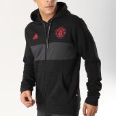 /achat-sweats-zippes-capuche/adidas-sweat-zippe-capuche-avec-bandes-manchester-united-dp2323-noir-gris-anthracite-166379.html