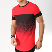 /achat-t-shirts-longs-oversize/terance-kole-tee-shirt-oversize-98208-2-rouge-noir-166321.html