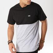 /achat-t-shirts/vans-tee-shirt-colorblock-a3czdjgp-noir-gris-chine-166381.html