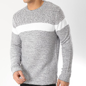 /achat-pulls/only-and-sons-pull-avec-bande-lazlo-7-gris-chine-blanc-166601.html