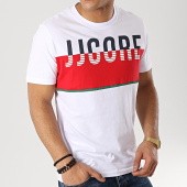 Jack And Jones - Tee Shirt Viking Blanc Rouge cf4740e0d362