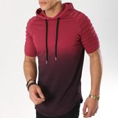 /achat-t-shirts-capuche/lbo-tee-shirt-capuche-oversize-degrade-597-bordeaux-noir-166766.html