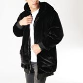 /achat-vestes/uniplay-veste-zippee-capuche-fourrure-p005-noir-166679.html