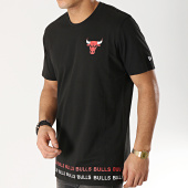5b6347f135d9c New Era - Tee Shirt Team Wordmark Chicag Bulls 11860071 Noir