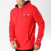 /achat-sweats-capuche/new-era-sweat-capuche-chicago-bulls-stripe-piping-11860099-rouge-167214.html