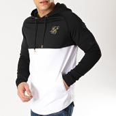 /achat-sweats-capuche/siksilk-sweat-capuche-oversize-13641-noir-blanc-dore-167002.html