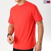 /achat-t-shirts/tommy-hilfiger-jeans-tee-shirt-classic-6061-rouge-167169.html