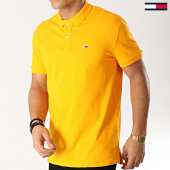 /achat-polos-manches-courtes/tommy-hilfiger-jeans-polo-manches-courtes-classic-6112-orange-167202.html