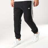 adidas - Pantalon Jogging A Bandes Radkin DU8137 Noir Blanc 7084aba0989