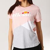 https://www.laboutiqueofficielle.com/achat-t-shirts/tee-shirt-femme-tricolore-1074n-rose-gris-chine-blanc-167409.html