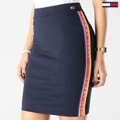 https://www.laboutiqueofficielle.com/achat-jupes/jupe-femme-avec-bandes-solid-bodycon-bleu-marine-167321.html