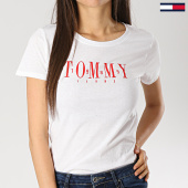 /achat-t-shirts/tommy-hilfiger-jeans-tee-shirt-femme-casual-6453-blanc-167322.html