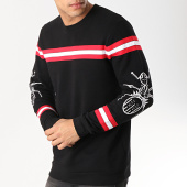 /achat-sweats-col-rond-crewneck/anthill-sweat-crewneck-avec-bande-light-ant-noir-167991.html