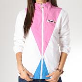 https://www.laboutiqueofficielle.com/achat-coupe-vent/ellesse-veste-zippee-femme-consolata-sga06322-blanc-rose-168350.html