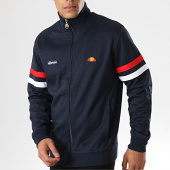 /achat-vestes/ellesse-veste-zippee-avec-bandes-roma-sha00117-bleu-marine-168469.html