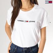 https://www.laboutiqueofficielle.com/achat-t-shirts/tee-shirt-femme-clean-boxy-logo-5455-blanc-168552.html
