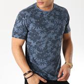/achat-t-shirts/petrol-industries-tee-shirt-tsr637-bleu-marine-floral-168744.html