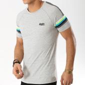/achat-t-shirts/superdry-tee-shirt-orange-label-engineered-stripe-m10105et-gris-chine-169006.html